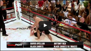Head Coach David Avellan winning Fight of the Night in his TV debut!
