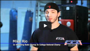 Mike Rio - 2x Wrestling National Champion and UFC Fighter